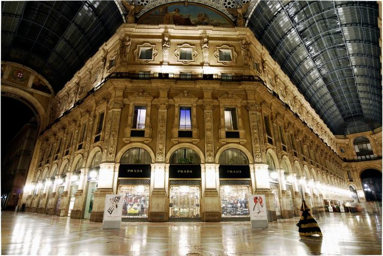 галерея Витторио Эммануила Милан