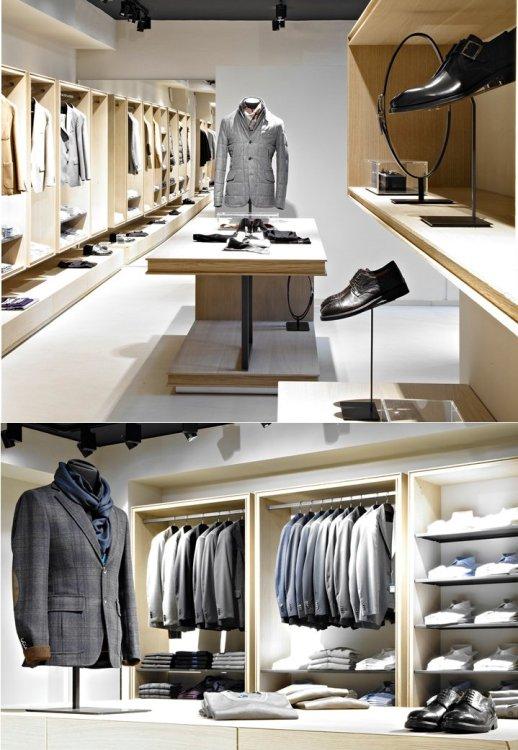 мужской шопинг в Милане