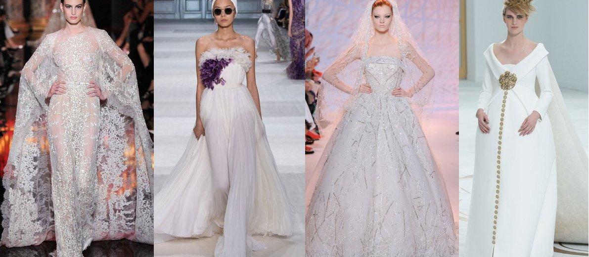 abda1893025f018 Лучшие свадебные платья с недели Haute Couture В Париже -