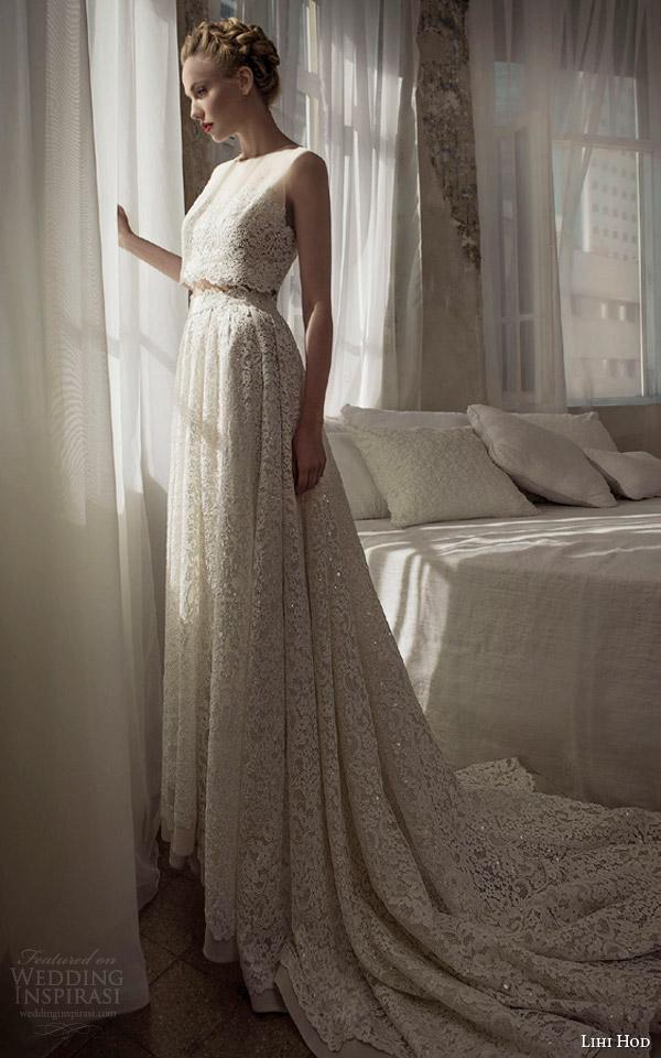 lihi-hod-wedding-dresses-2014-sleeveless-lace-top