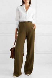 белая рубашка как модно носить на работу в офис 2020