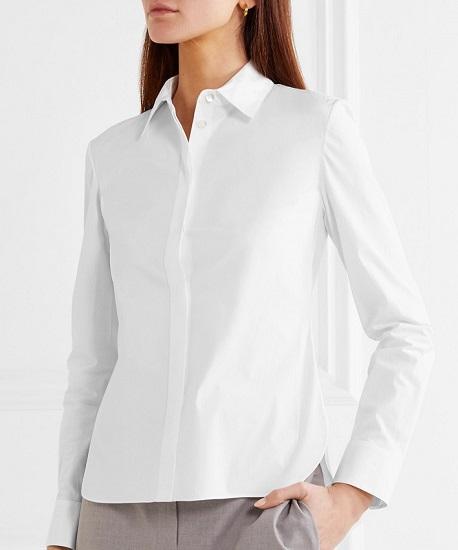 как можно выбрать хорушую базовую белую рубашку