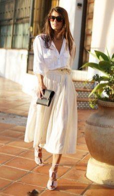 фото девушка белая рубашка как носить на свидание