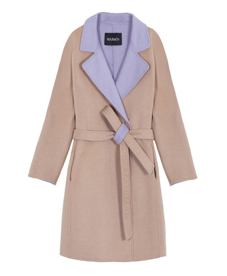 palto MAX&Co dvuhstoronnie