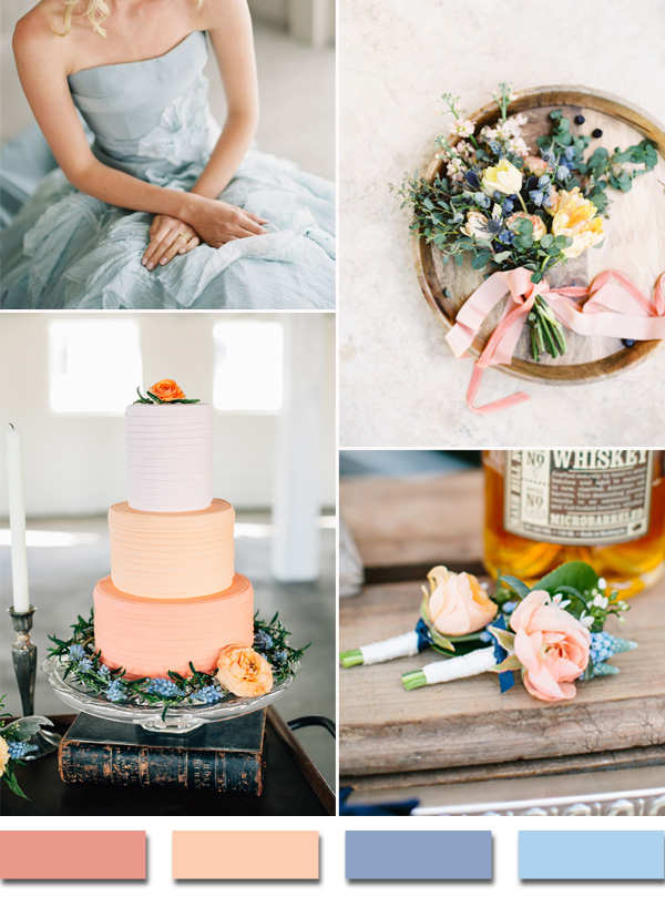 coral-peach-and-powder-blue-wedding-color-ideas-for-2015-trends