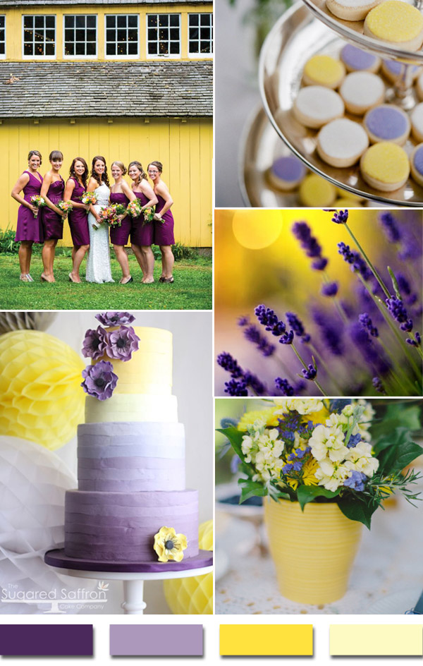 countryside-shades-of-purple-and-yellow-2015-wedding-color-trends