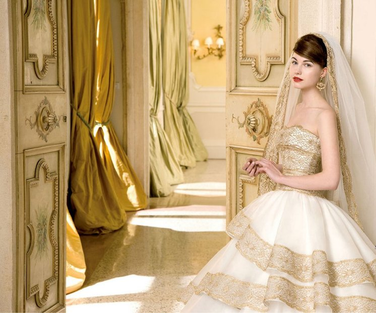 trend color wedding 2015 gold