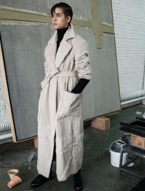 пальто Max Mara + Liu Wei Special Edition