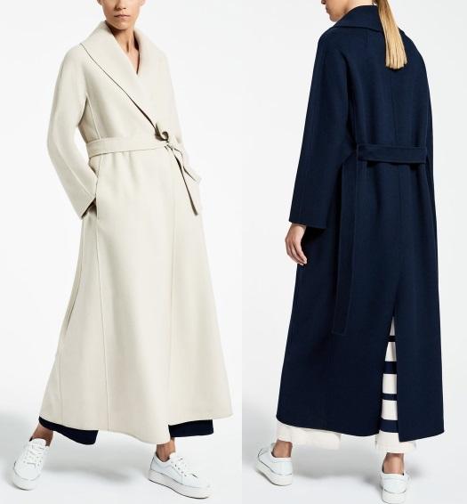 Пальто Max Mara длинное шерсть