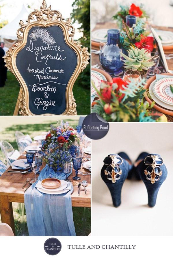 wedding color ideas fall 2015 pantone reflecting pond