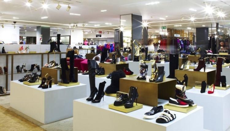 самая модная обувь Милан шоппинг