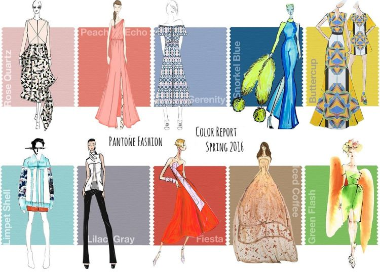 Pantone Fashion color report Spring 2016 - Milan Style Guide com