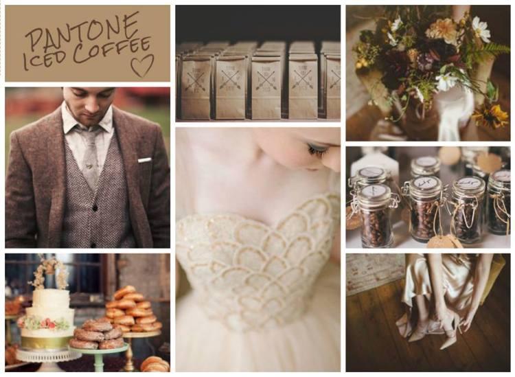 Wedding color 2016 Iced Coffee