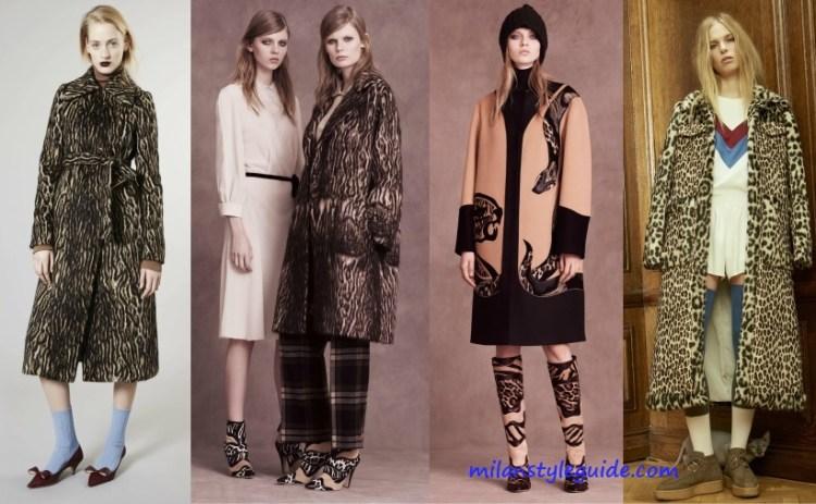 trend Pre Fall 2016 - leopard coat - milanstyleguide