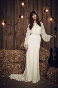 коллекция свадебных платьев Жденни Пекхам
