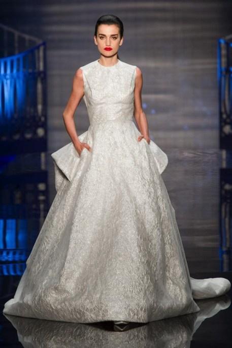 самые модные свадебные платья Европа