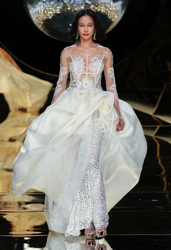 самые модные в 2017 свадебные платья