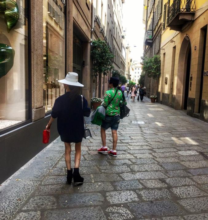 шоппинг в милане - shopping v milane