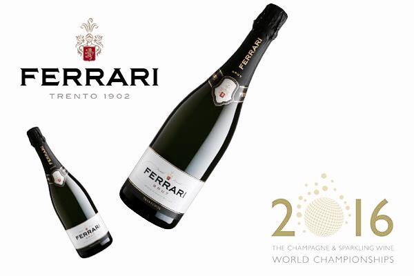 Best italian Sparkling wine Spumante italiano Ferrari
