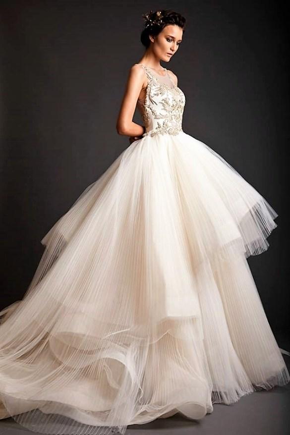 свадебный дизайнер платьеKrikor Jabotian
