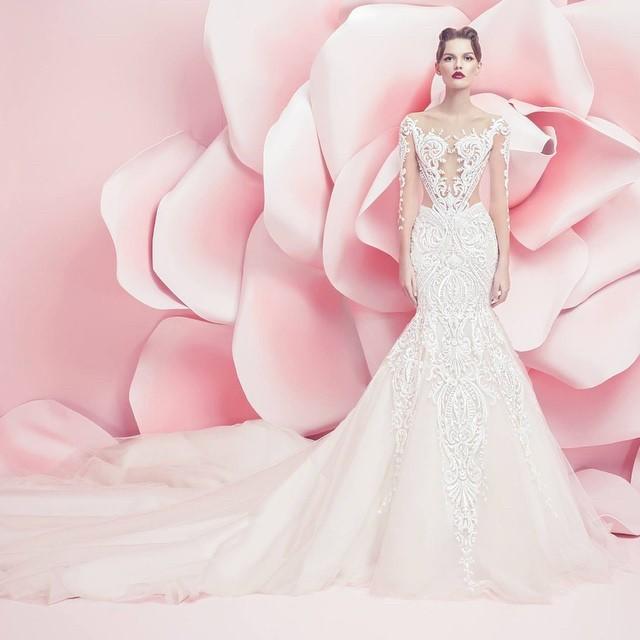Свадебное платье Michael Cinco 2016