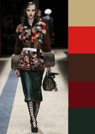 модная палитра цветов осень зима 2016