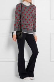 тонкий пуловер burberryосень 2016