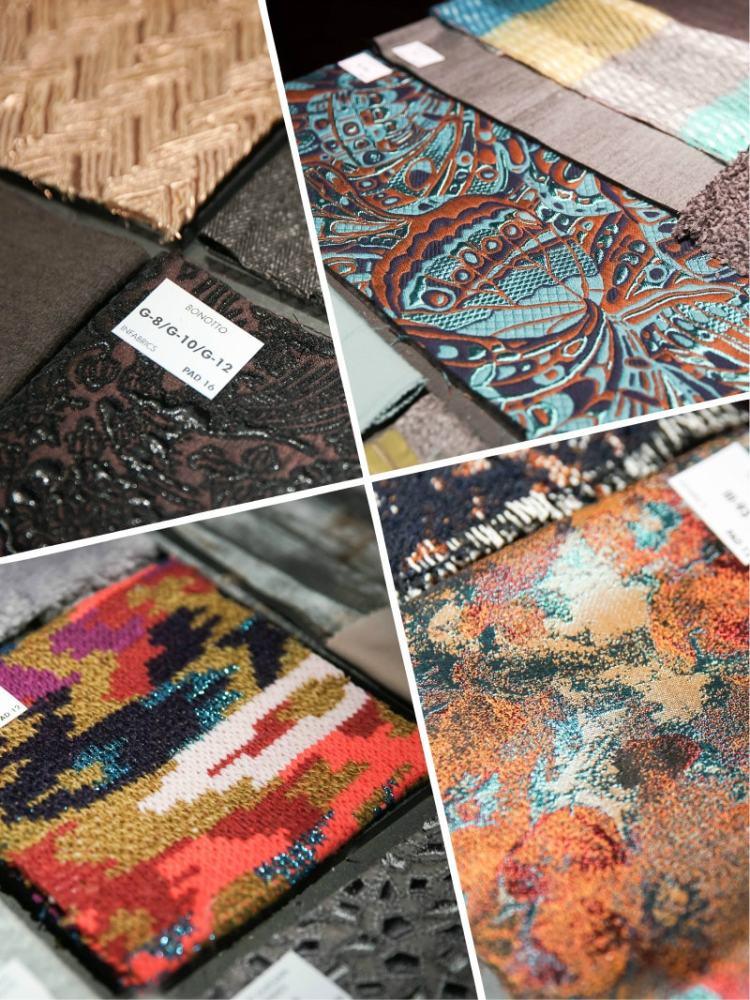 ткани и тренды выставка в Милане