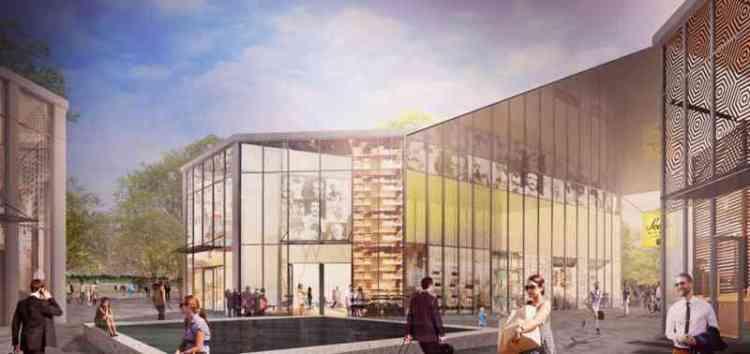 новый торговый центр Милан