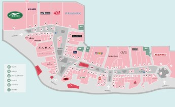 большой торговый центр в Милане