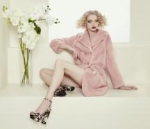розовая норка каракуль fabio gavazzi итальянские шубы