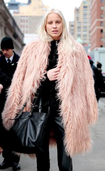модные шубы неделя моды зима 2016