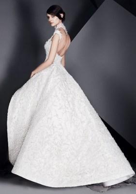 свадебное платье с пышной юбкой Ashi Studio 2017