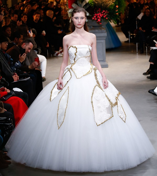 Haute Couture wedding dress 2017 Viktor&Rolf