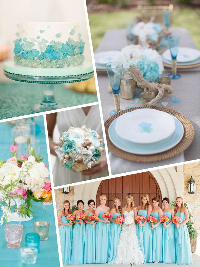 Island Paradase wedding color 2017
