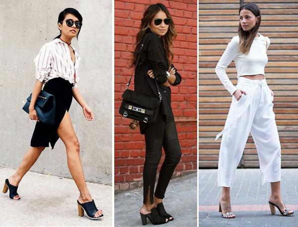Mule мюли самая модная обувь в 2017