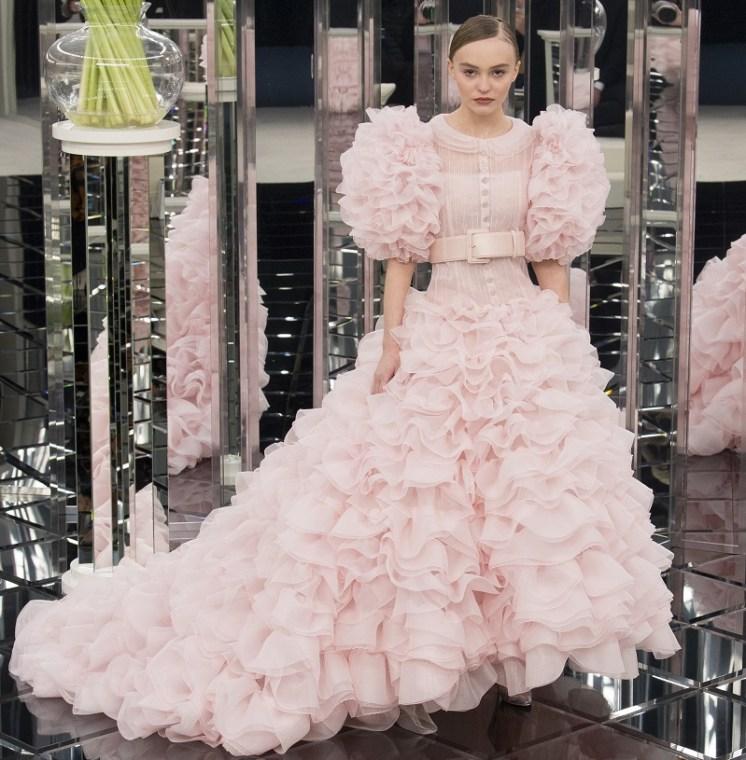 свадебное платье Шанель кутюр 2017 Депп