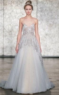 блестящее свадебное платье 2018 Inbal Dror