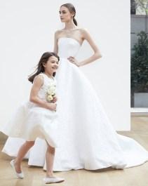 классическое свадебное платье Oscar de la Renta Spring 2018