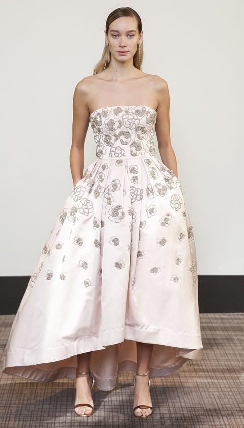 тенденция 2018 свадебное платье укороченное Gracy Accad
