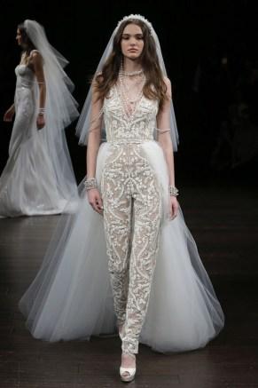 Naeem-Khan-Bridal свадебный наряд с брюками 2018
