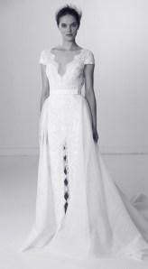 свадебное платье с разрезом Alyne Bridal spring 2018