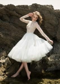 Dany Mizrachi bridal 2018 короткое свадебное платье Dany Mizrachi bridal 2018