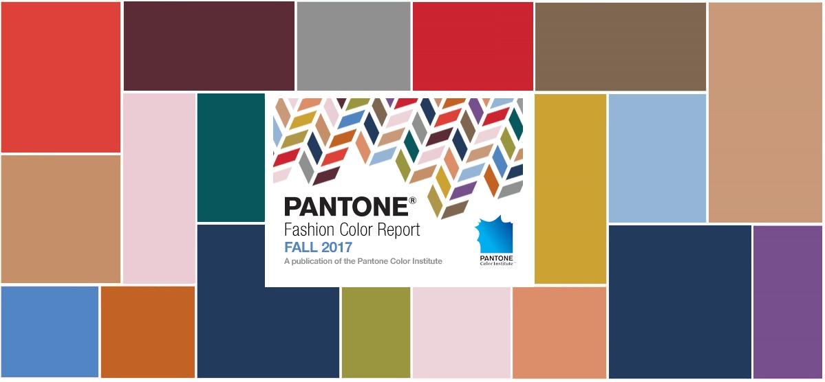 Самые модные цвета осень — зима 2017/18 — PANTONE Fashion Color Report Fall 2017/18