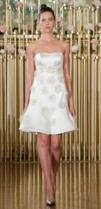 короткое сваденое платье Francesca Miranda