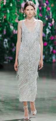тенденция 2018 свадебное платье укороченное Galia Lahav