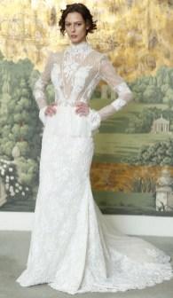 модное свадебное платье закрытое Idan Cohen Bridal 2018
