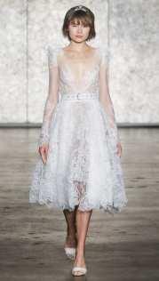 тенденция 2018 свадебное платье укороченное тенденция длина миди - свадебное платье