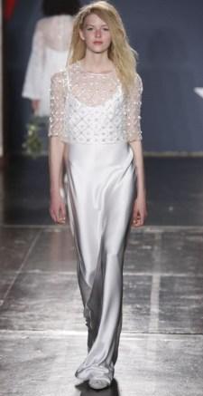 свадебное платье с накидкой Jenny Packham