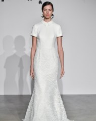 свадебное платье закрытое 2018 Justin Alexander